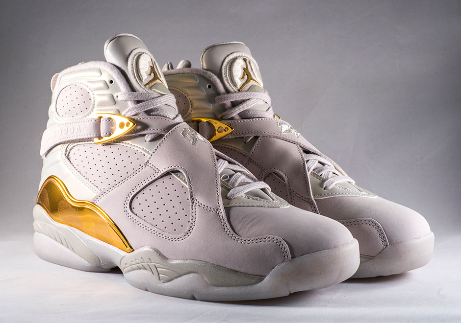 "reebok montant - Up Close With The Air Jordan 8 ""Cigar & Champagne"" Collection ..."