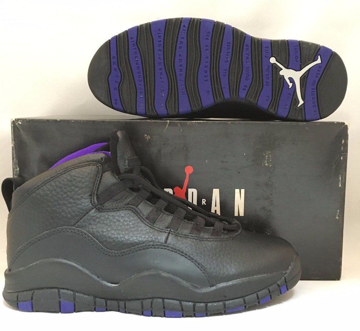 0644e087c58daa wholesale rare look at air jordan 10 sacramento from 1995 air jordans d4927  8e84f