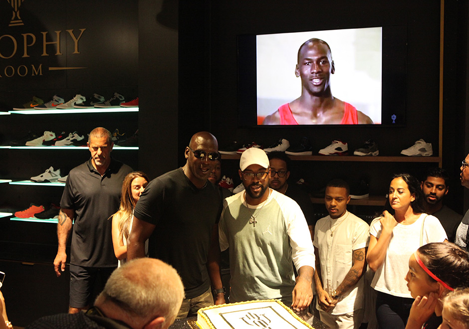 Go Inside Marcus Jordans Just Opened Trophy Room