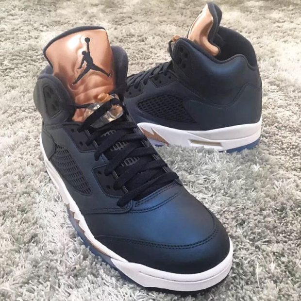 sports shoes d9e6a f3f4d air jordan v retro bronze