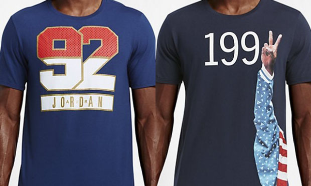 Jordan Brand Commemorates MJ's 1992 Olympics Run With Fresh Tees