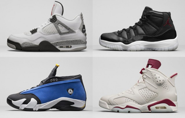 25 Different Air Jordans Being Restocked At Eastbay Tomorrow
