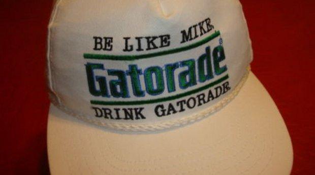 Vintage Gear  Michael Jordan Gatorade