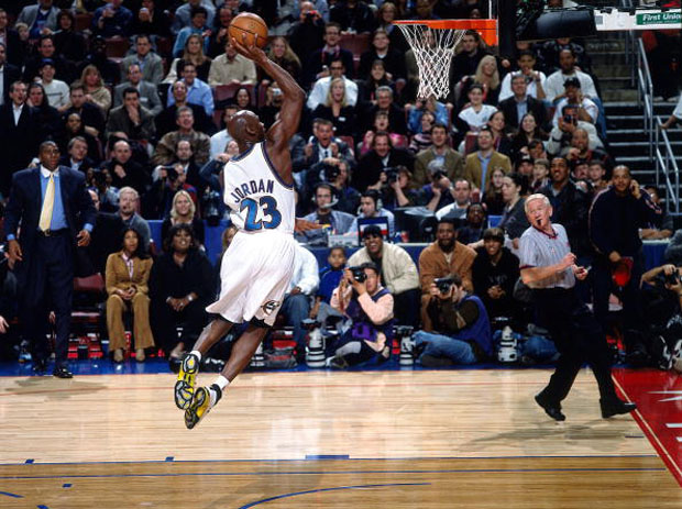 #MJMondays: Michael Jordan Bricks The Breakaway In The All Star Game
