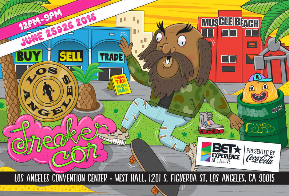 Reminder: Sneaker Con Los Angeles Is Free This Weekend