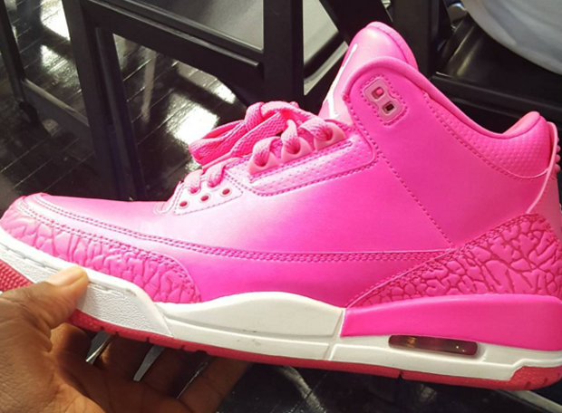 brand new cc9af b623f Who needs NIKEiD when you re a friend of the Jumpman  Jordan Brand track  and field athlete Mandy White is the owner of this 1 of 1 Air Jordan 3, ...