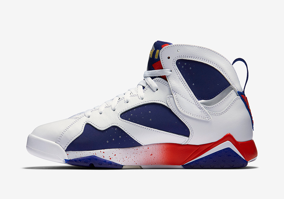 "Air Jordan 7 ""Olympic Alternate"" Official Photos - Air ..."