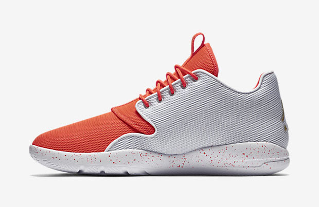 Jordan Eclipse Color: White/Infrared 23/Pure Platinum/Metallic Gold Coin  Style Code: 724010-126. Price: $110