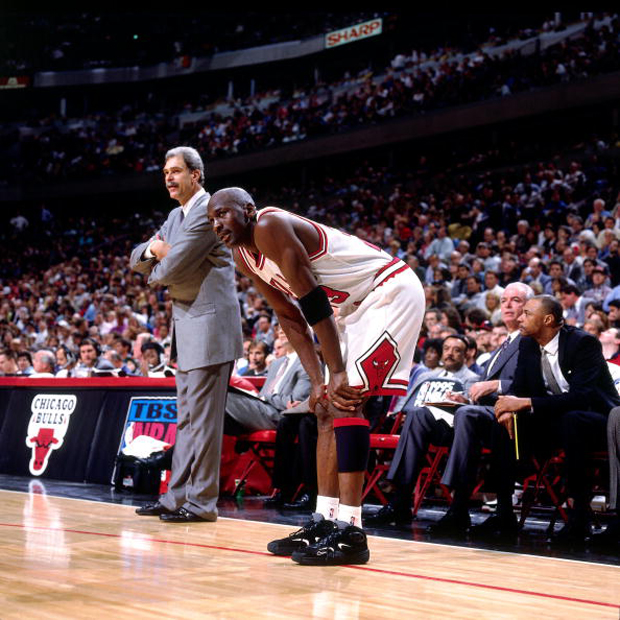 Flashback Friday: MJ Laces Up Nike Air Flight One