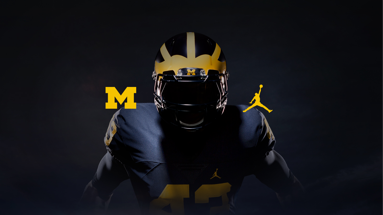 Image result for u of m pics jumpman