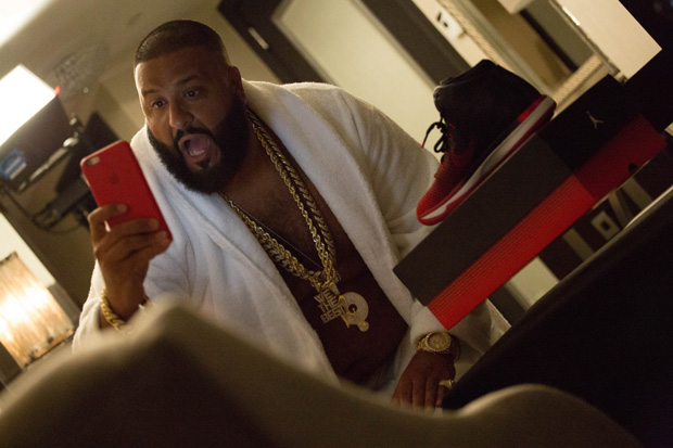 DJ Khaled Preps For MTV Video Music Awards With