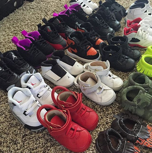 a711f6211c2 Joe Haden has included  Air Jordan collection  on the list of baby  preparation. The Cleveland Browns star and his wife Sarah are expecting a  baby boy