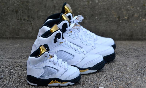 "finest selection de125 f97be No tiered podium necessary – everybody wins with the Air Jordan 5 ""Metallic  Gold"" release scheduled for Saturday. Jordan Brand reboots its focus on  Olympic ..."