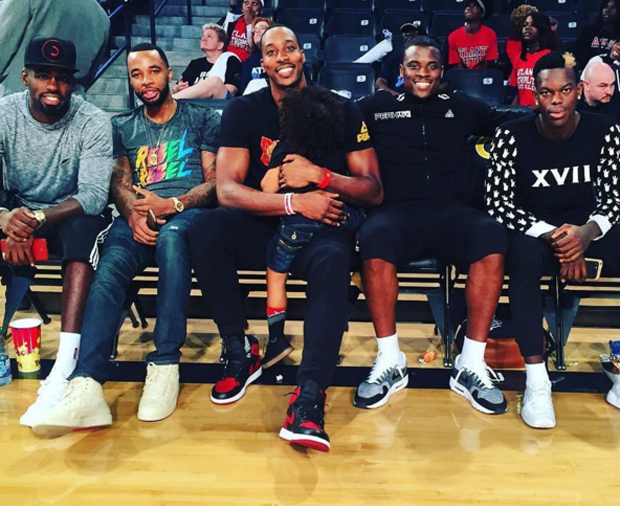 Dwight Howard Wears Air Jordan 1