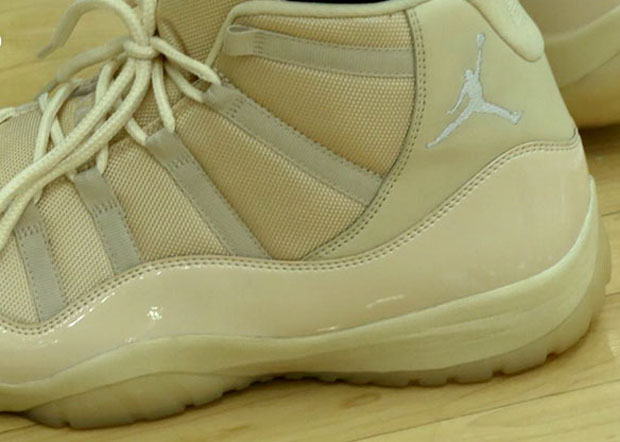 Jabari Parker Shows Up To Media Day In Cream-Colored Air Jordan 11 Exclusives