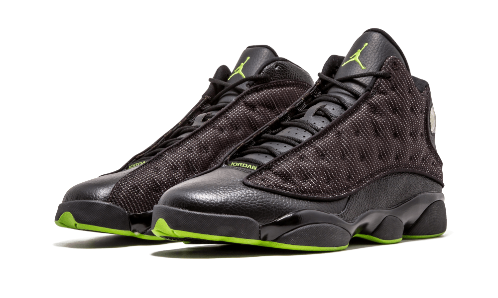 """finest selection 08fc2 dbd02 Air Jordan 13 """"Altitude"""" has only released two times – 2005 and 2010.  Slightly different versions, too. The 2005 featured black leather paneling,  ..."""