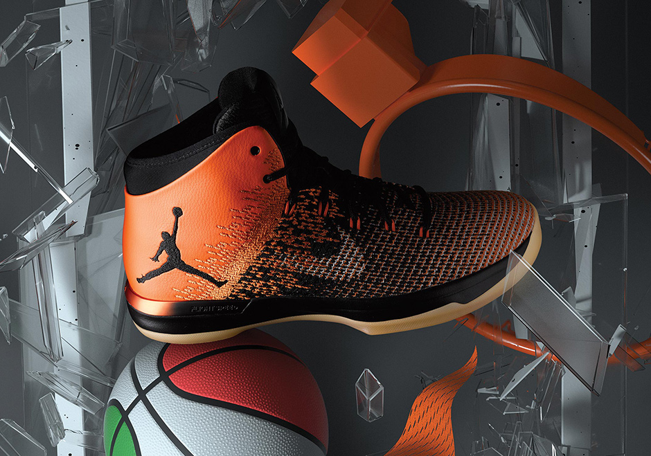 best sneakers 991bd 68311 ... get the shattered backboard air jordan 31 is wrapped in the starfish  orange and black of