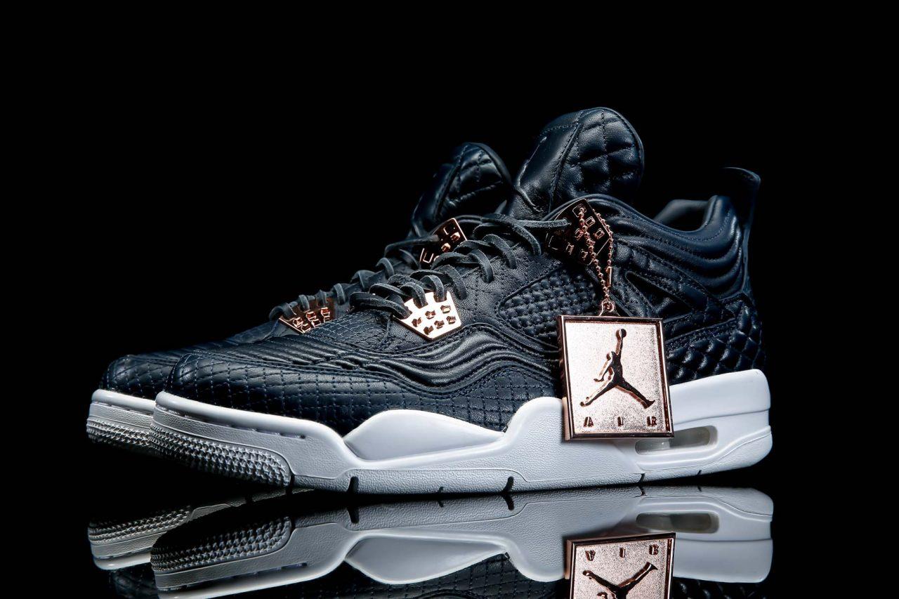 New Look At Air Jordan 4 Premium Quot Obsidian Quot Air Jordans