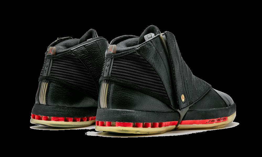 """8bb917e8dd21 The Daily Jordan  Air Jordan 16 """"Bred"""" – 2008 — Sneaker Kat"""