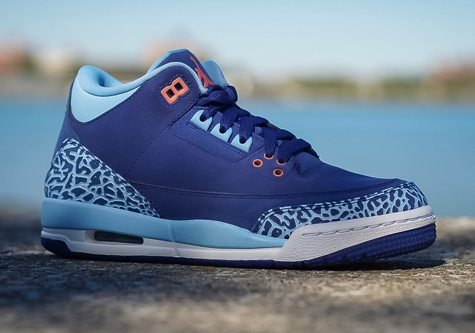 Air Jordan 3 is back for fall 2016 with Cyber Monday, Wool, and the highly  anticipated Nike Air-clad True Blue. Jordan Brand also has the kids covered  with ...