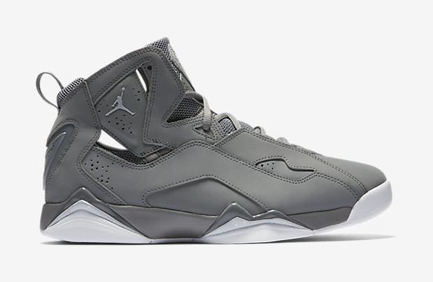 Jordan True Flight Color: Cool Grey/Cool Grey/White/Wolf Grey Style Code:  342964-015. Price: $140