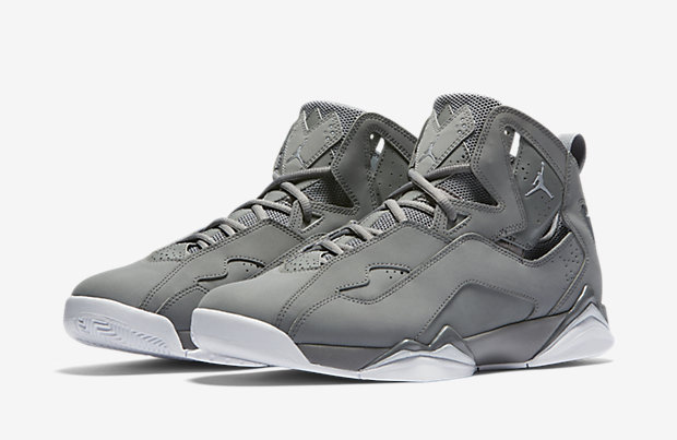 "super popular 0318f 43407 Graphite, Flint, and Wolf Grey have each shared neutral shade duties on Air  Jordan 7 for over 15 years, but there s never been a dedicated ""Cool Grey""  ..."