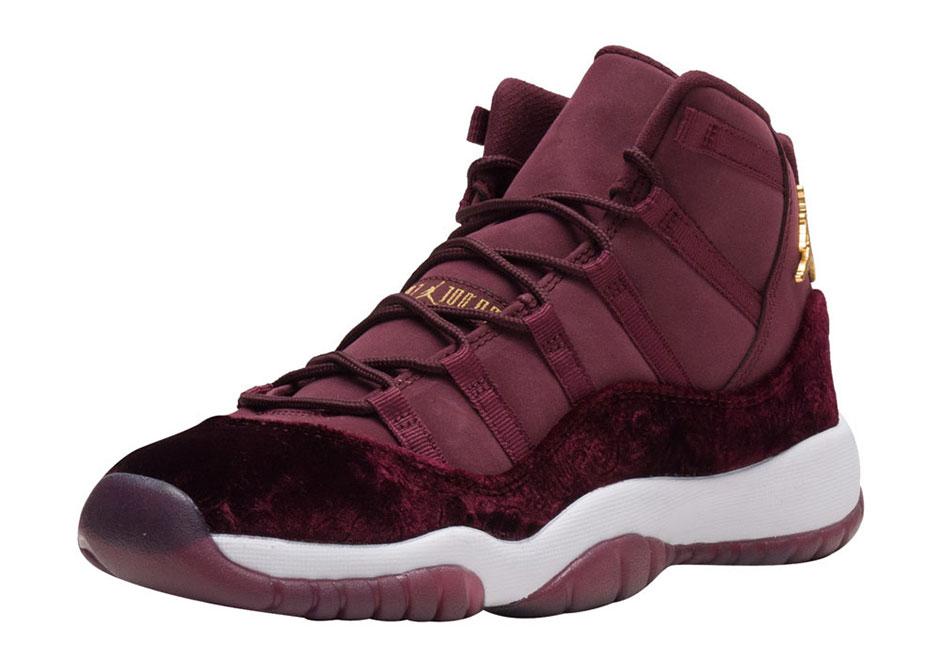 new jordan releases burgundy