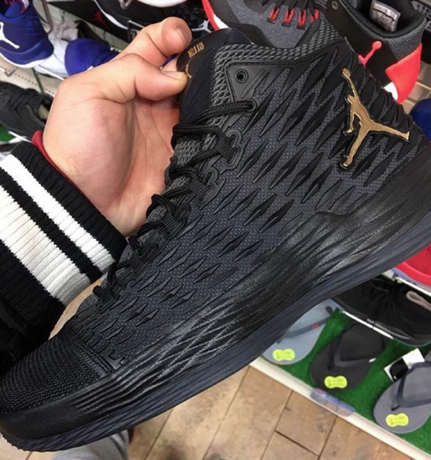 If these early photos are any indication, the Jordan Melo M13 is sharply  steering Carmelo Anthonys signature sneaker line into a new direction.