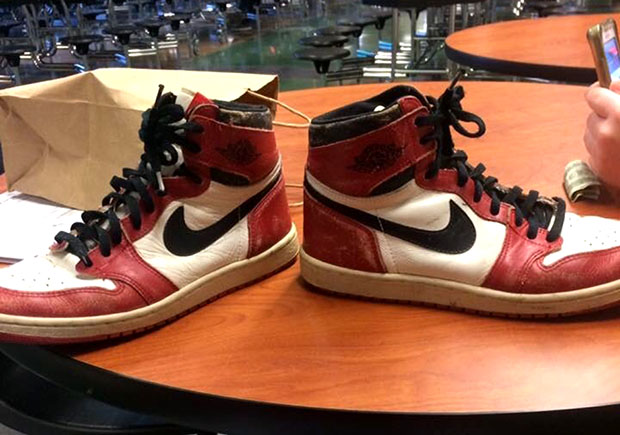 A High School Teacher Gave Original Air Jordan 1