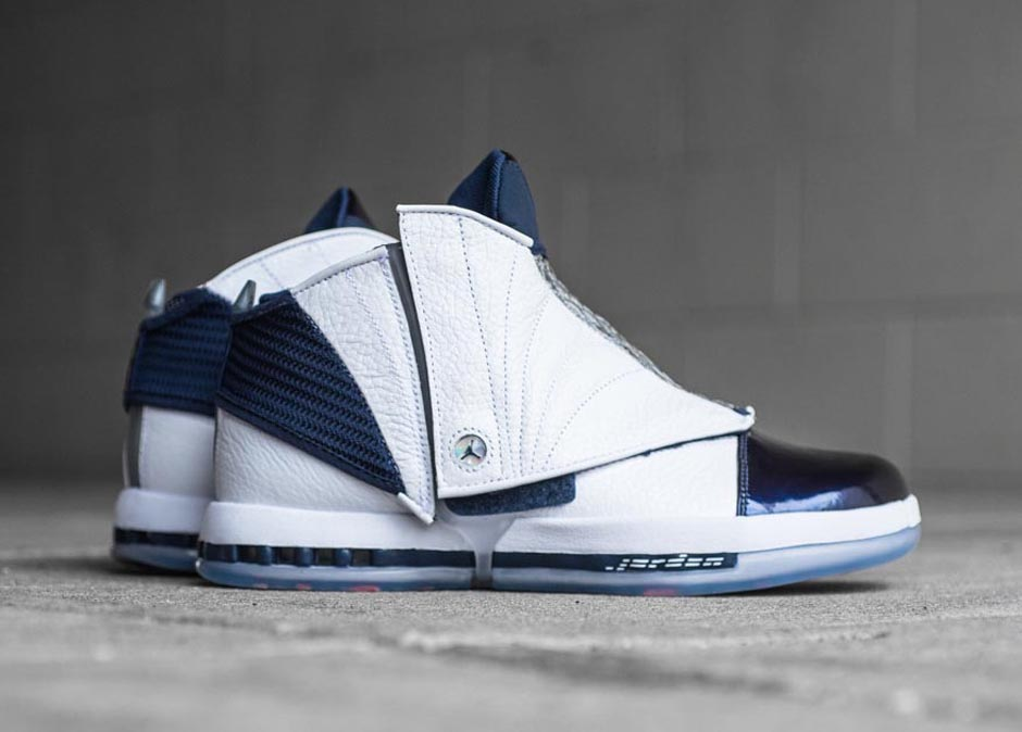 "Air Jordan 16 ""Midnight Navy"" returns for the first time since 2001 this Thursday, bringing fans back to the third act of Michael Jordan'...Read More"
