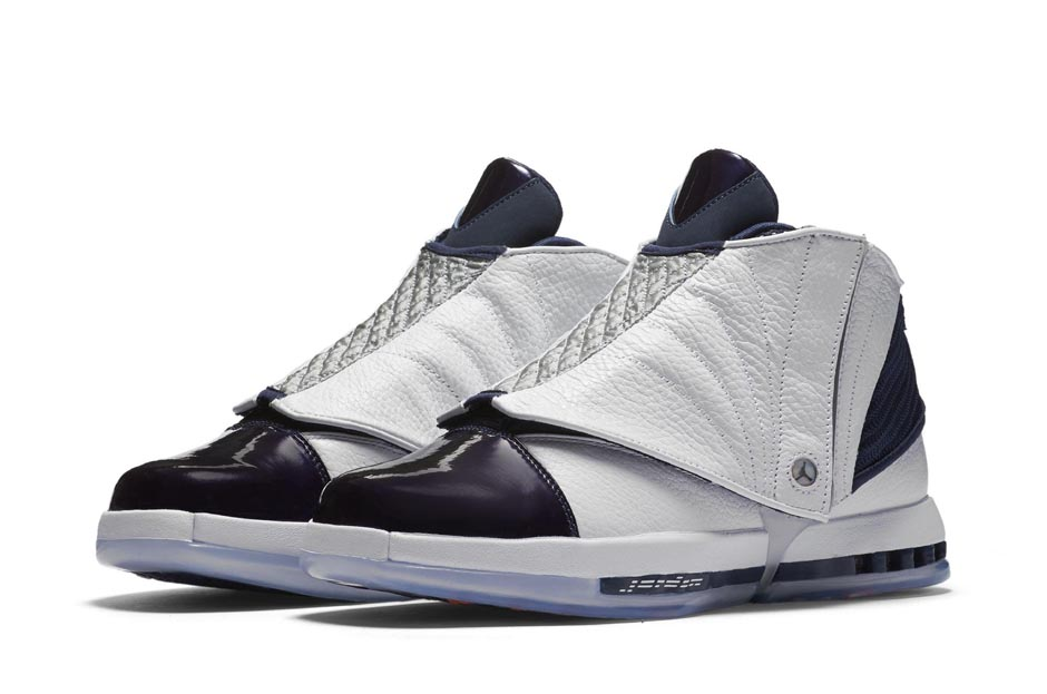 "62fd66cd4b84 If you re looking to secure your pair of Air Jordan 16 ""Midnight Navy""  today"