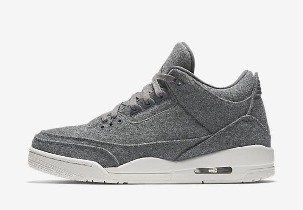 "Air Jordan 3 ""Wool"" Color  Dark Grey Dark Grey-Sail Style Code  854263-004.  Release Date  December 17 554551f3e"