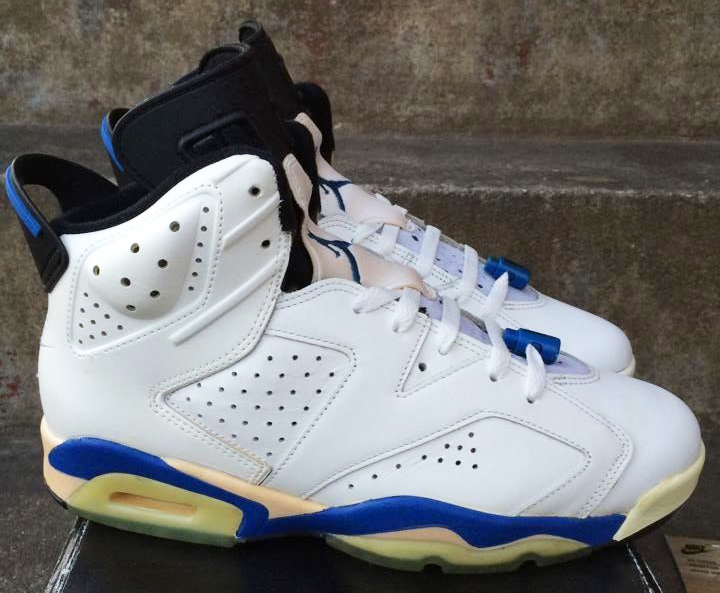 """new style 651fd 9d55f Air Jordan 6 """"Sport Blue"""" continued the blue-shaded alternate colorway  trend that Tinker Hatfield began in 1988 with Air Jordan 3."""