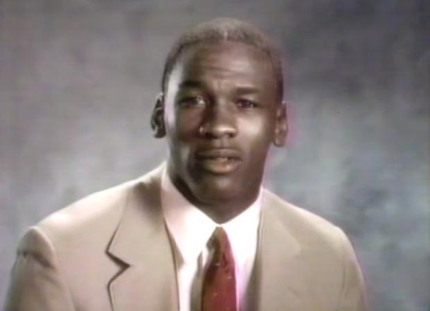 Flashback Friday: Michael Jordan Tells Kids To
