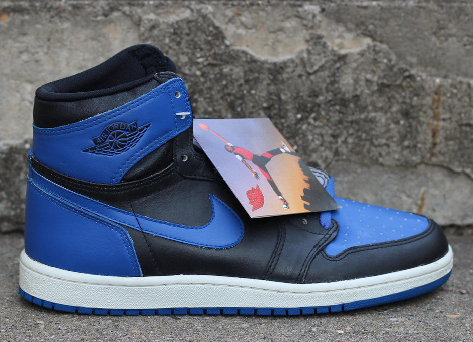 ... Though rare, pairs of Air Jordan 1s from 1985 do still exist in  completely unworn