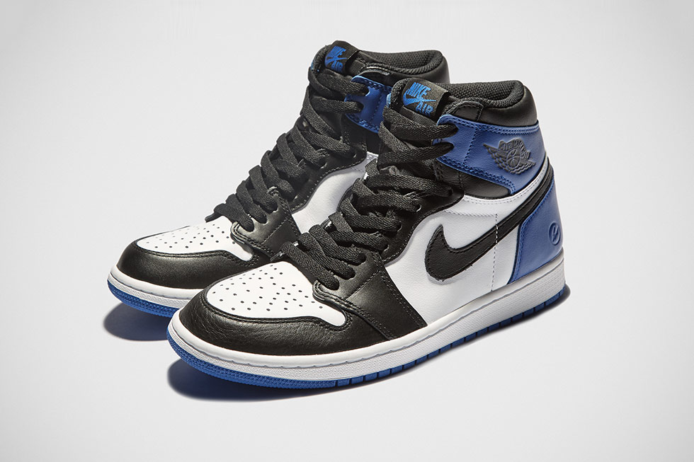 Fragment Design x Air Jordan 1 Re-Releasing