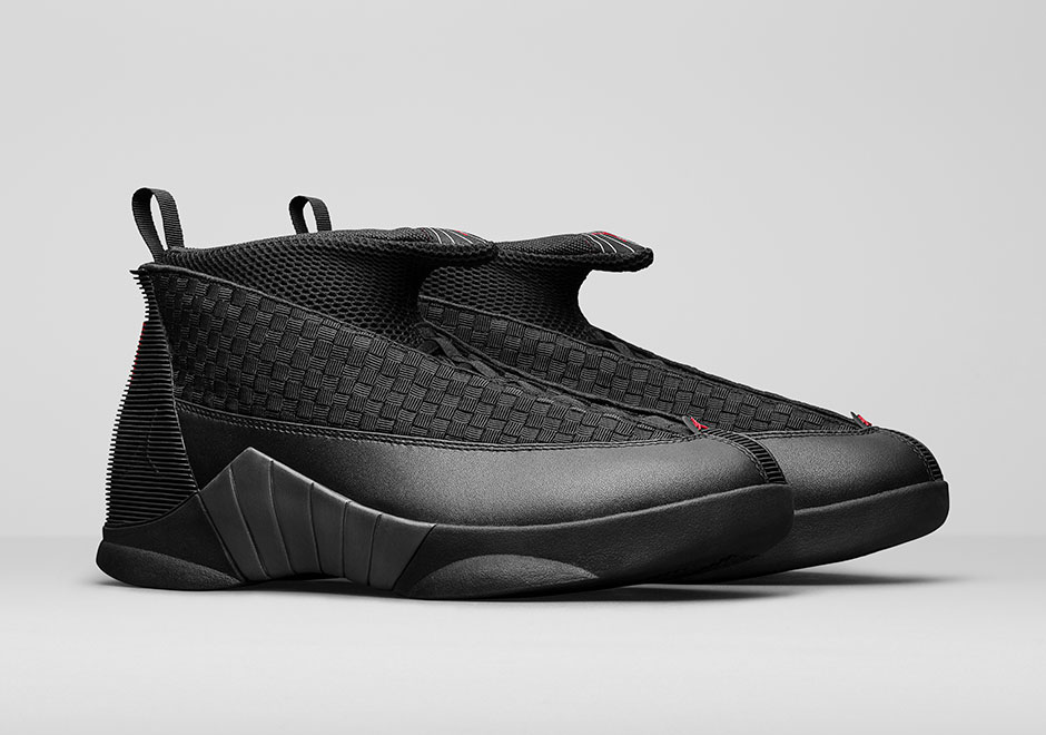 040d53c4878 Air Jordan 15 returns from 2000 in its original Black/Varsity Red this  weekend, and the remastered version looks just the part. No shoe before it  nor after ...