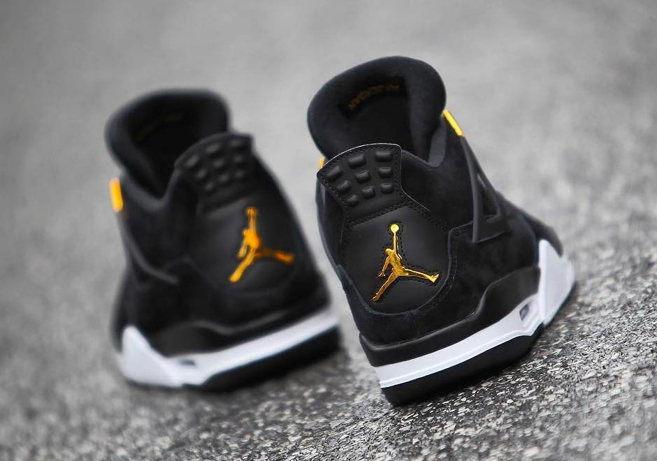 8c93be6bf7d3 ... black metallic gold daim noir 1fbe7 3b8a5  official store air jordan 4  royalty focuses on high style air jordans release dates more jordansdaily