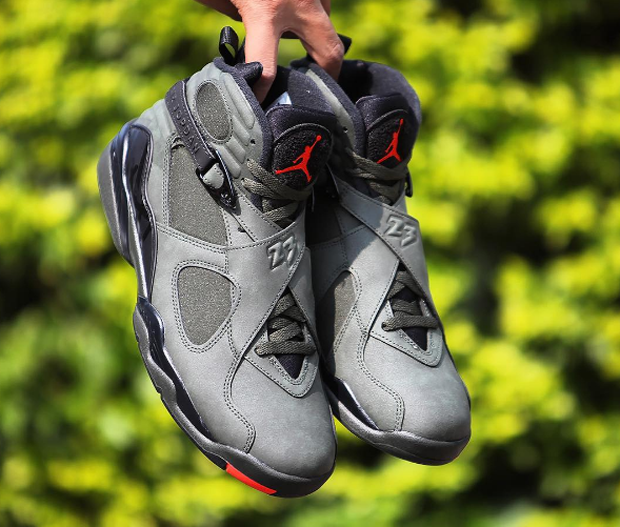 jordan 8 take flight. hard to believe there were only three original air jordan 8 colorways in 1993 \u2013 white/black-true red for the regular season, black/bright concord-aqua tone take flight