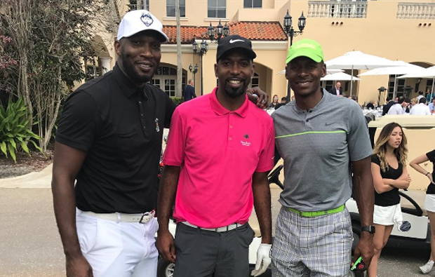 Ray Allen's Latest Air Jordan Golf Shoes Are Insane