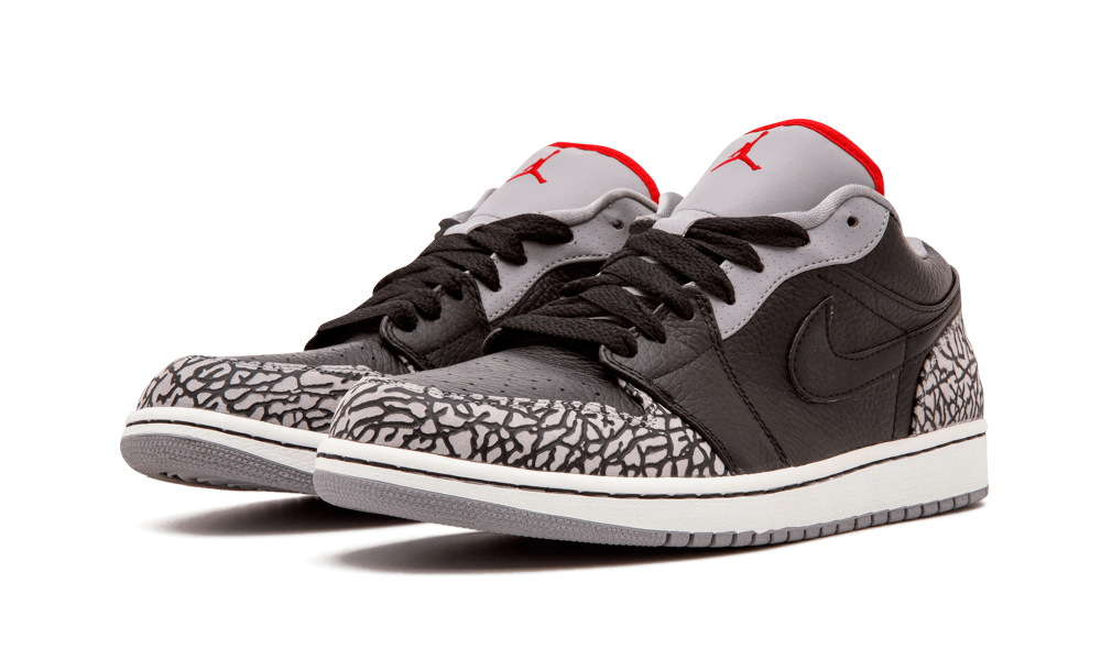 "Air Jordan 1 Phat Low ""Cement"" released in September 2008 as an ultra  casual alternative to the standard AJ1 Low. Which was and is already very  casual. 155ebe73a"