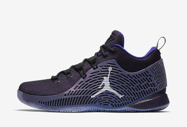 Jordan CpVi Ae Shoes X 2 Chris Paul Black Blue Sale Events