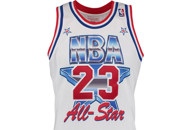 Michael Jordan 1991 All-Star Jersey Restocked With Free Shipping