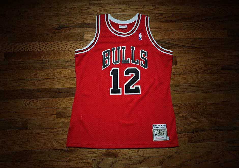 0310d478079 ... Mitchell Ness Releases Rare Michael Jordan 12 Bulls Jersey - Air Jordans,  Release Dates More ...