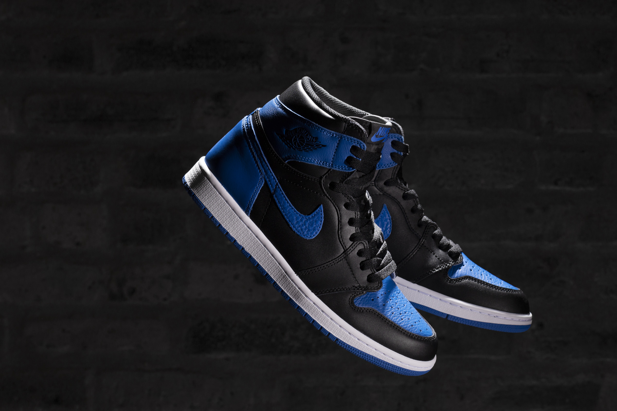 buy online 14f78 dbfb1 ... denmark air jordan 1 retro high royal color black varsity royal white  style code 555088 007