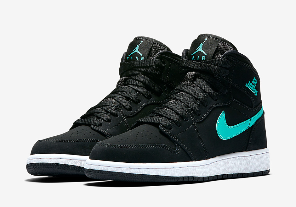 Hyper Jade is taking over for a little bit for the next Air Jordan 1 GS  release. Done in the Rare Air template that saw multiple colorways and  releases in ...