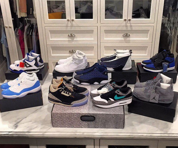Joe Haden Picks Up Atmos 3s And More Air Jordan Heat