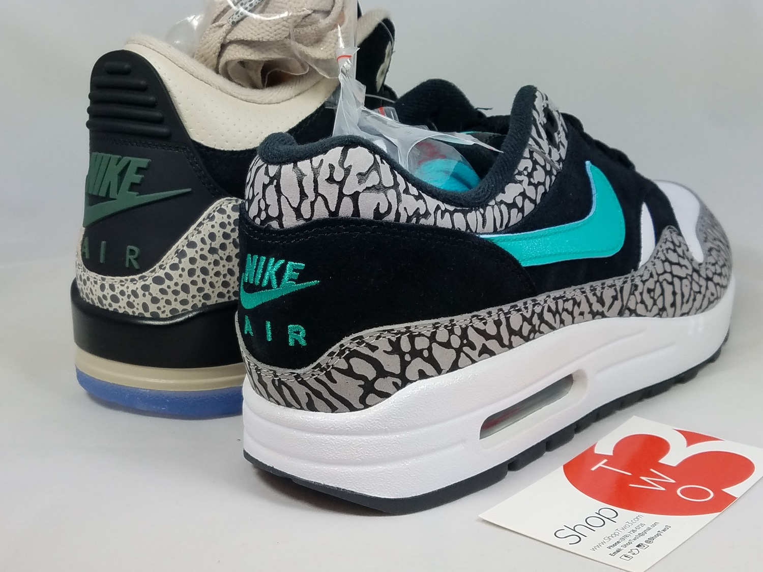 1f978124802 In case you couldn't get enough atmos x Air Jordan 3, here are some of the  latest images to check. As mentioned, this is the very first AJ3 to feature  ...