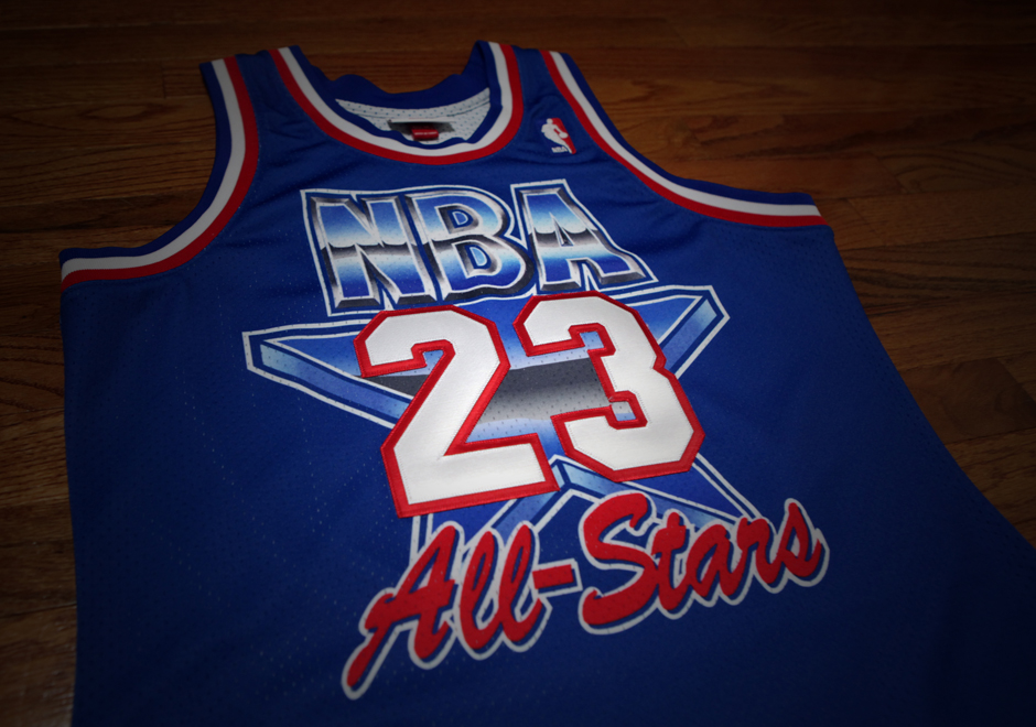 Relive History With Michael Jordan's Mitchell & Ness 1993 NBA All-Star Jersey - Air Jordans ...