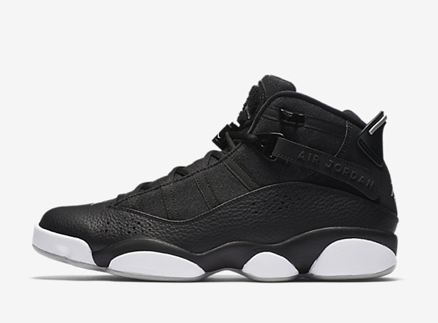 d038f9f4fd65 ... air jordan 6 retro Jordan 6 Rings Color BlackWhiteMatte Silver Style  Code 322992-021.